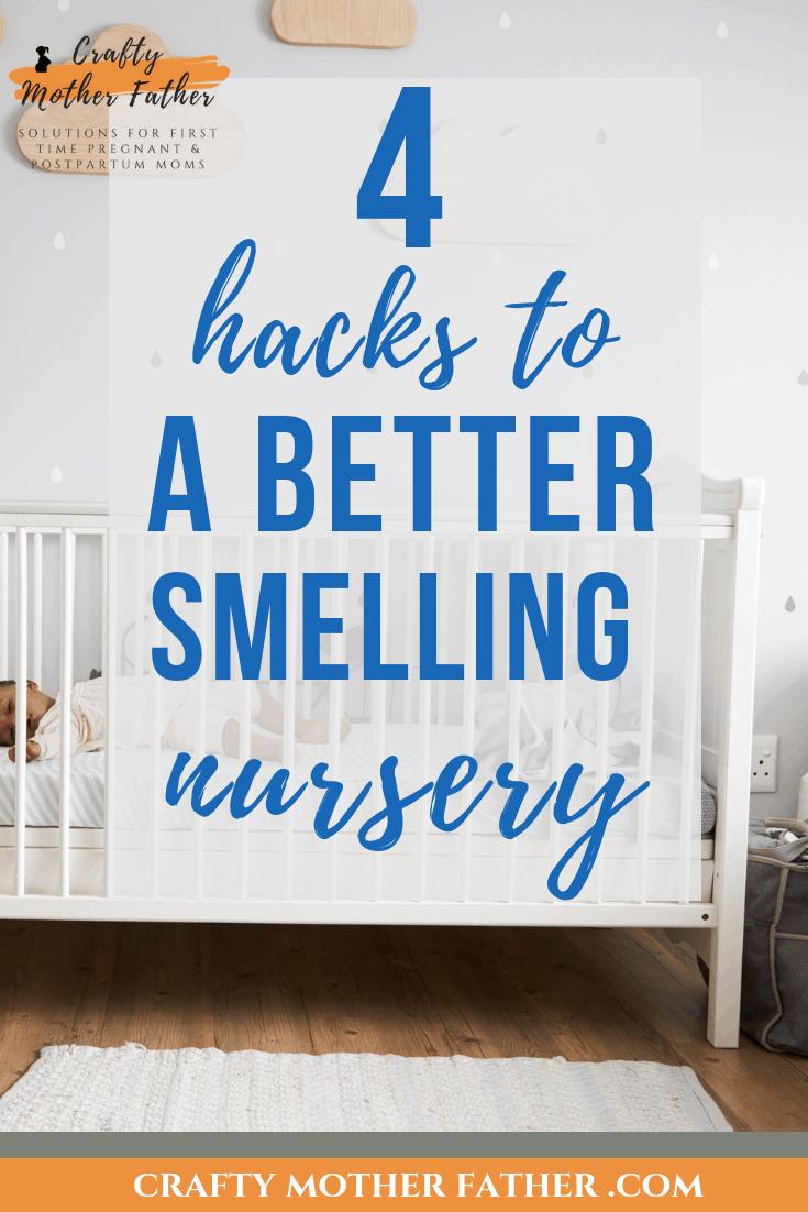image of nursery with crib and stuffed animal- 4 ways to make your nursery smell amazing