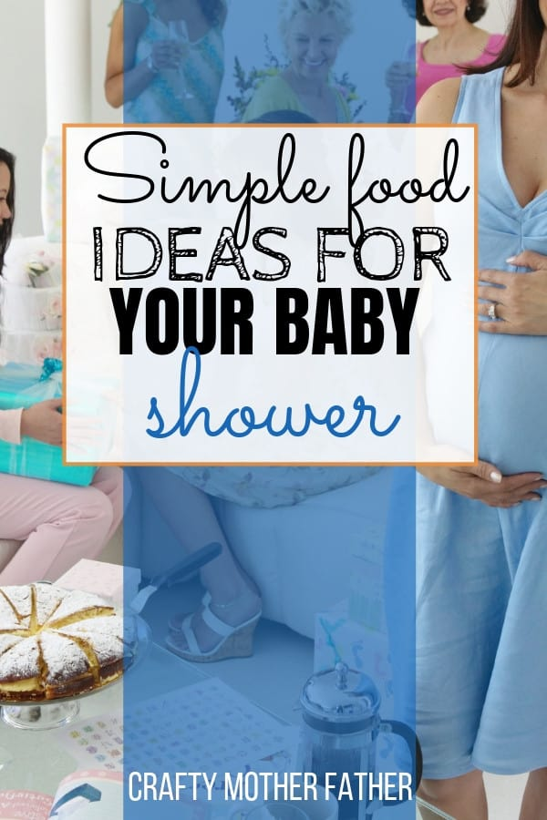 food ideas for a baby shower