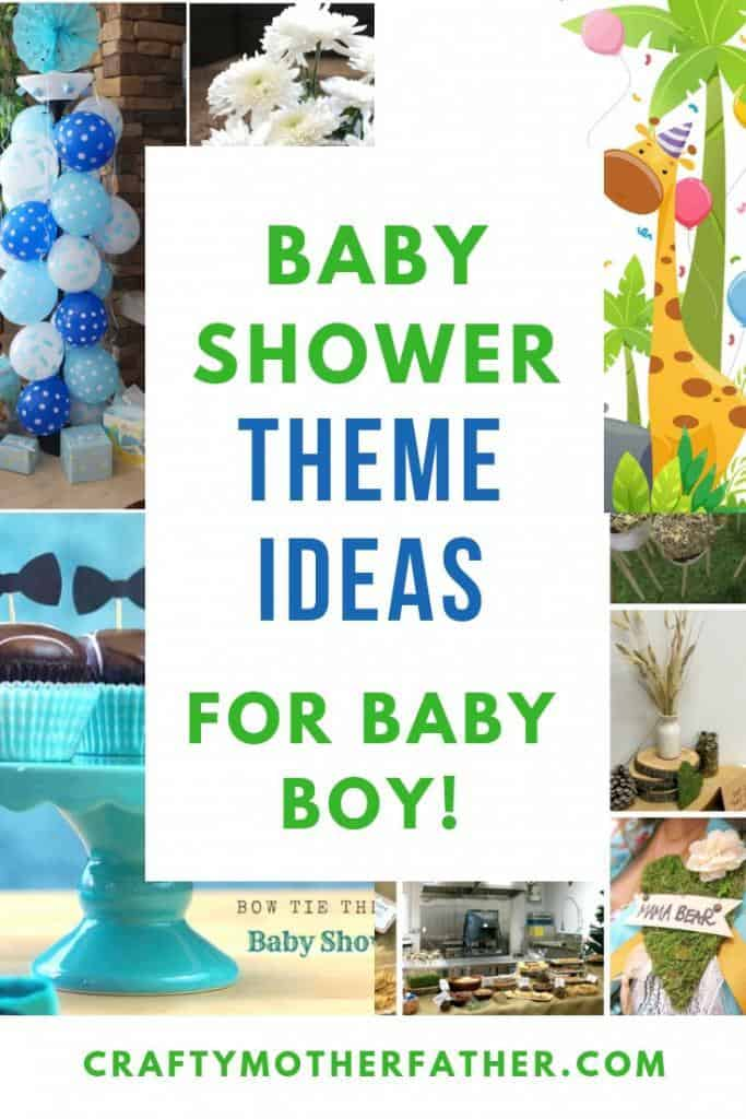 baby shower theme ideas for boys
