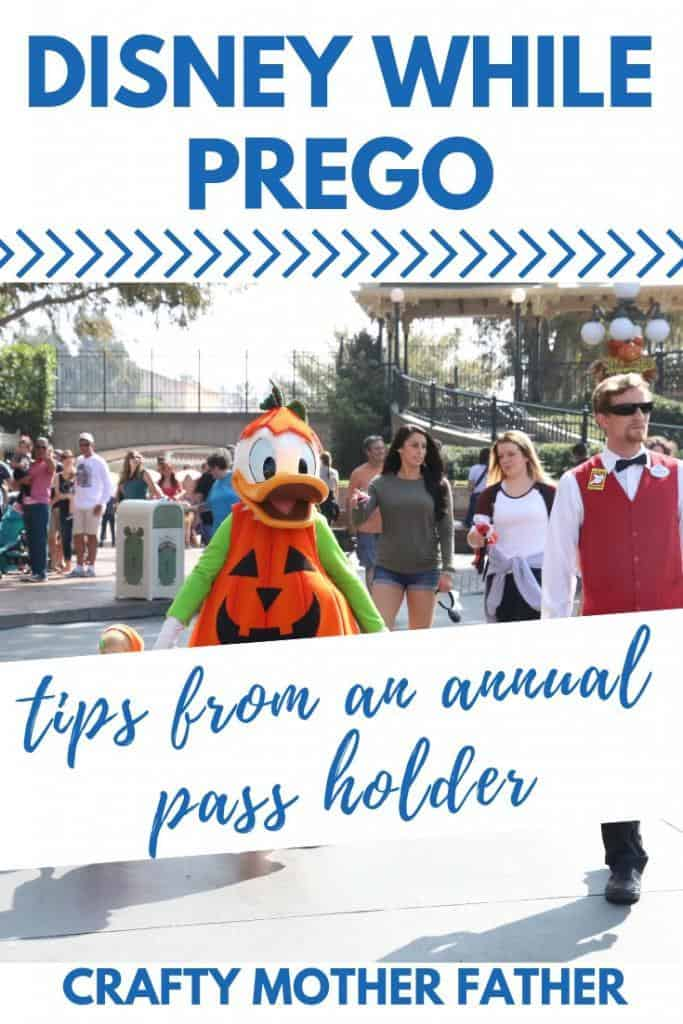 Going to Disneyland While Pregnant - Tips from a pregnant annual passholder