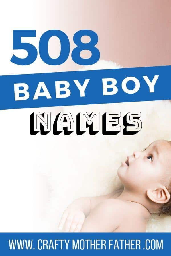 a list of baby boy names