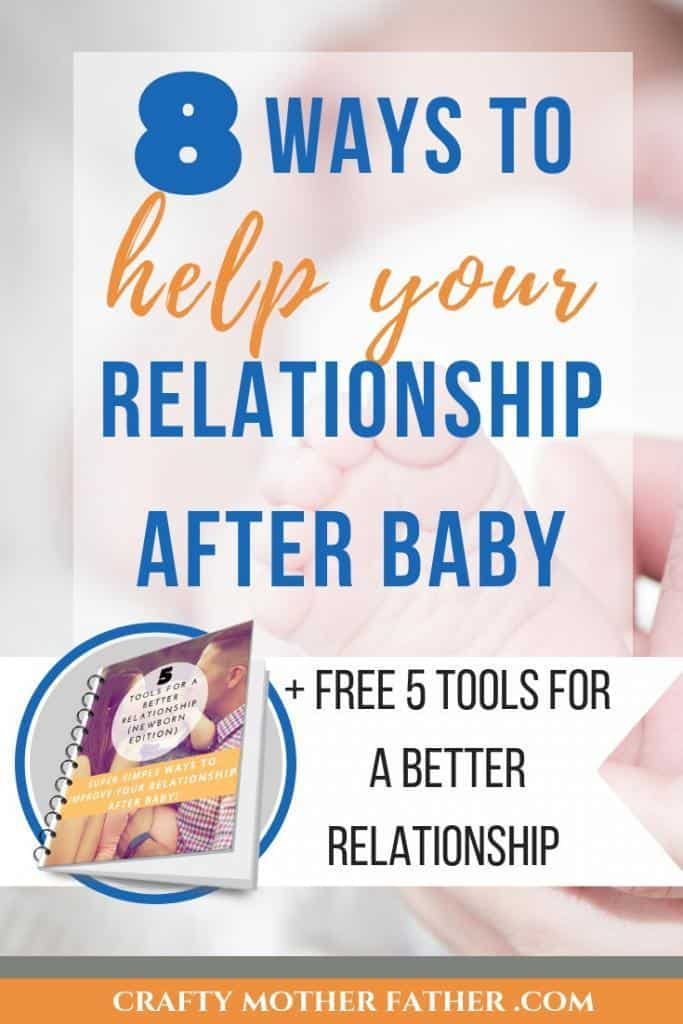 how to help your relationship after baby