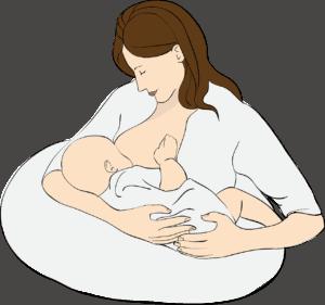 breastfeeding holding position