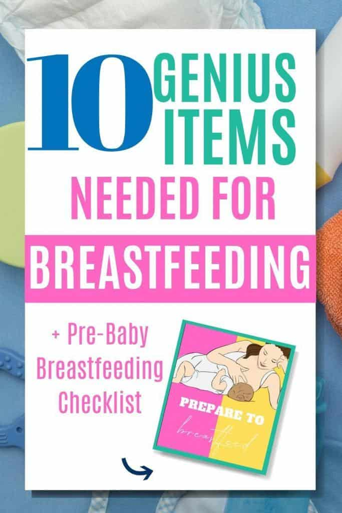 10 of the best breastfeeding products for first time moms