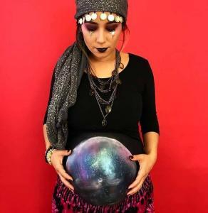pregnant fortune teller costume