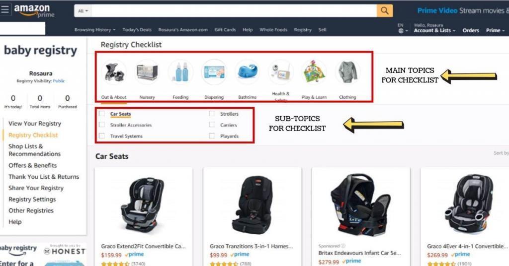 easily create a baby registry in three easy steps