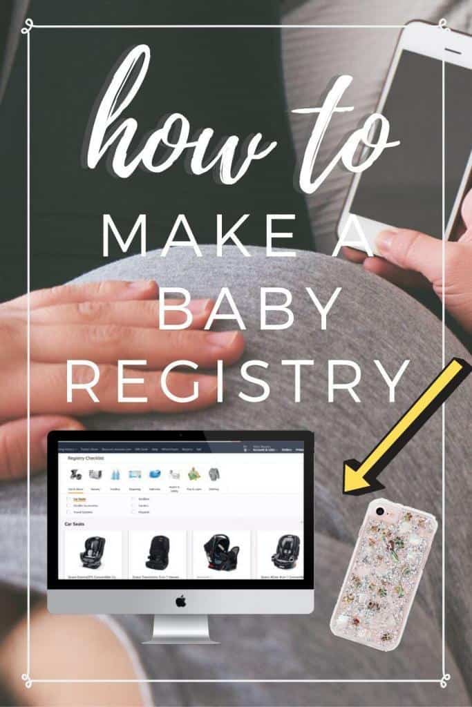 how to make a baby registry