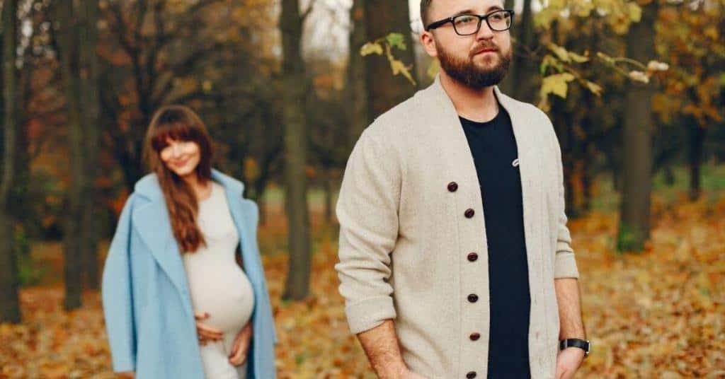 fall pregnancy maternity photoshoot