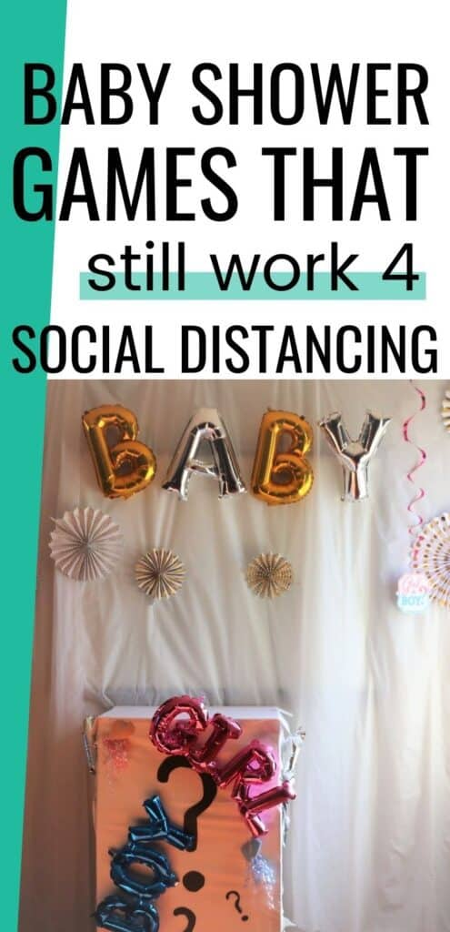 baby shower games that still work for social distancing if you want to have a baby shower during your pregnancy during a pandemic. go for it do these games. so fun