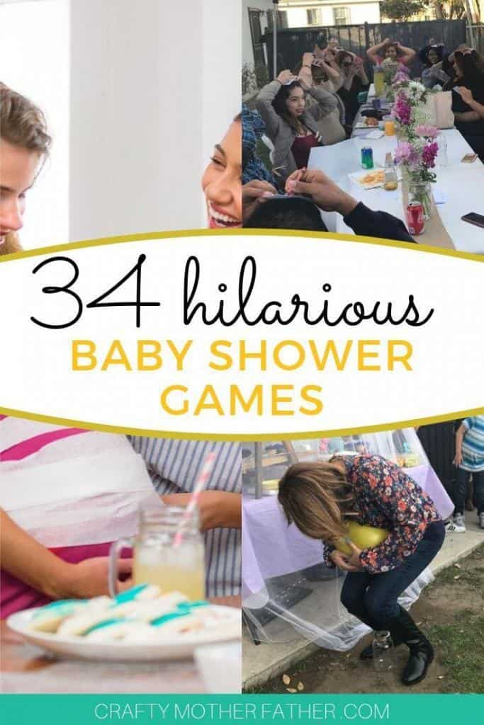 fun and unique baby shower games