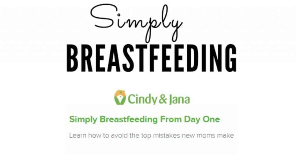 online breastfeeding course by Cindy and Jana that can help you breastfeed from the start