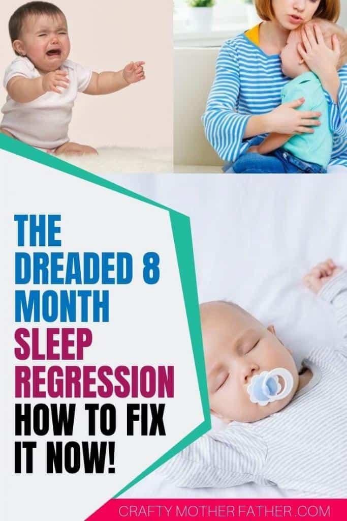 8 9 10 month sleep regression