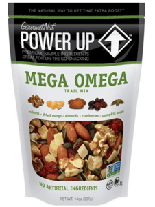 mega omega trail mix the perfect first trimester pregnancy snack to give you energy.