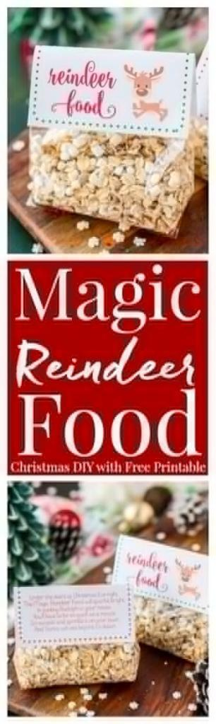 Christmas tradition to start this year - making reindeer food