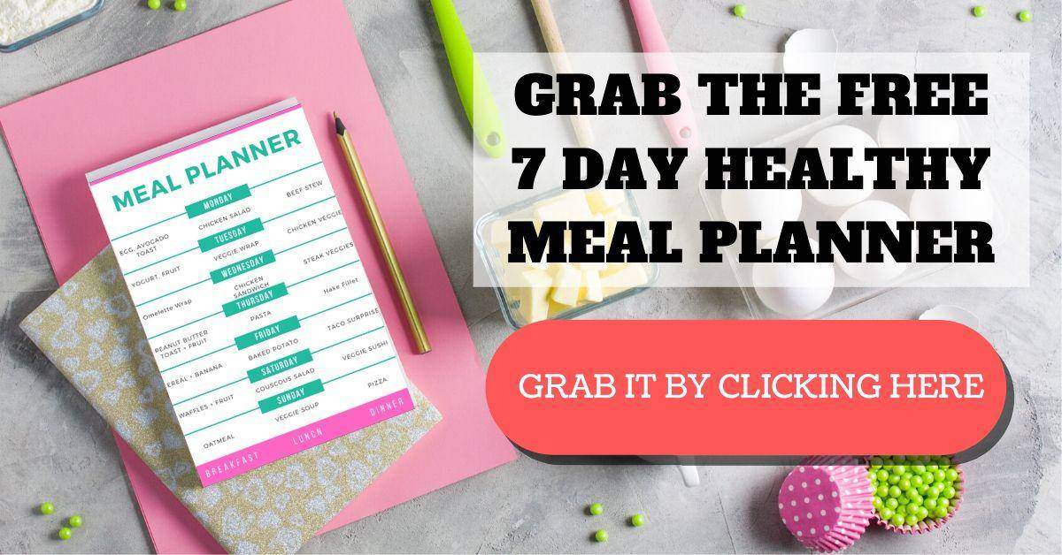 healthy meal planner for 7 days of pregnancy. eat and be healthy use the meal plans for a 2k diet