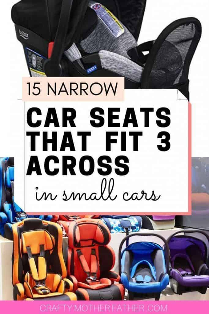 the best narrow car seats from infant to booster and convertible car seats