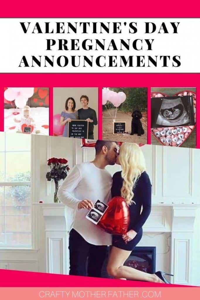 14 Valentine's Day Pregnancy Announcements