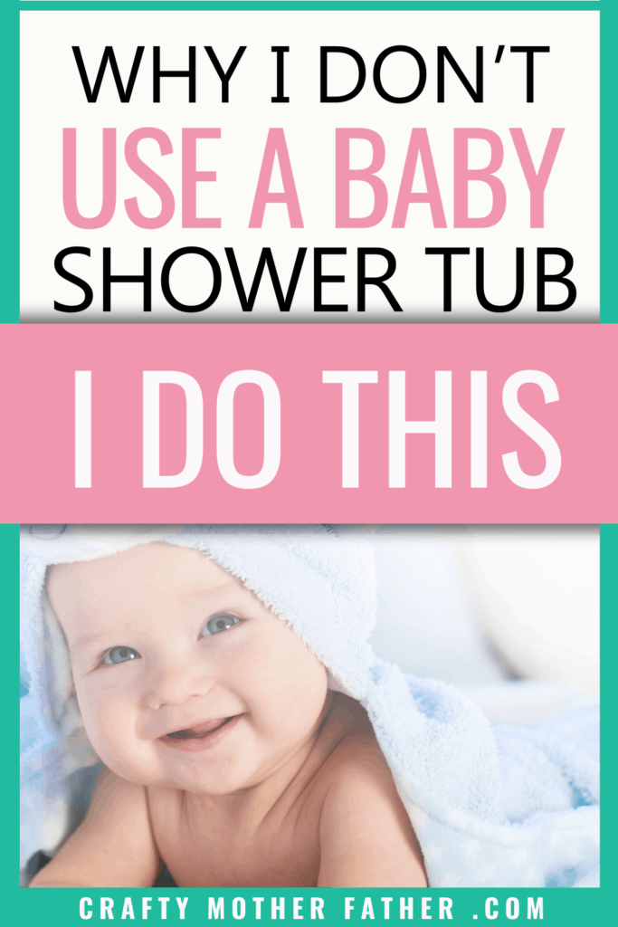how to shower with your baby. why i dont use a baby tub i do this instead