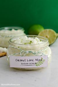 these mothers day ideas to diy gifts are perfect like the coconut lime mint sugar scrub to easy diy it
