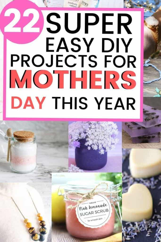 super easy diy gifts for moms 22 super easy diy mothers day gifts