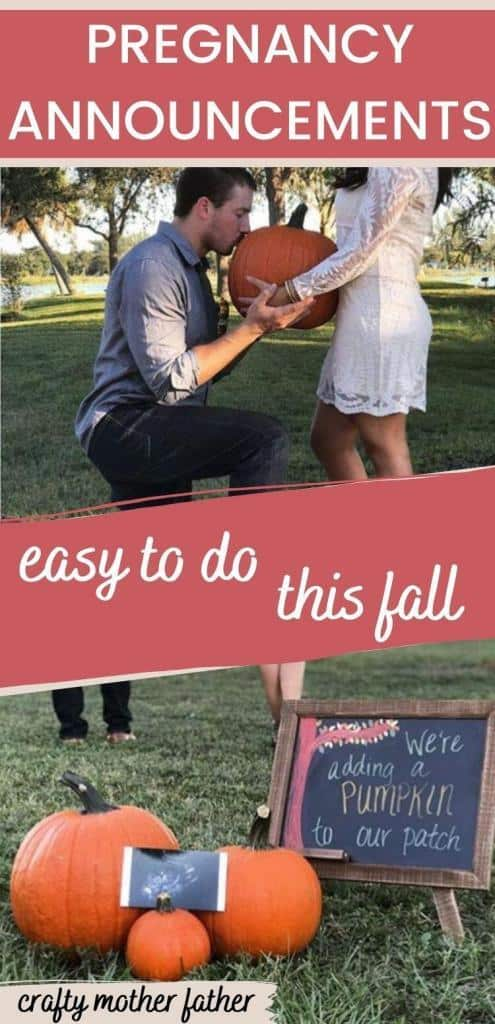 pregnancy announcements to do this fall