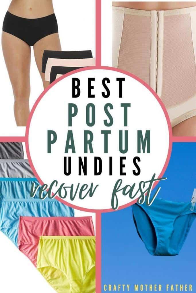 best postpartum underwear recover fast