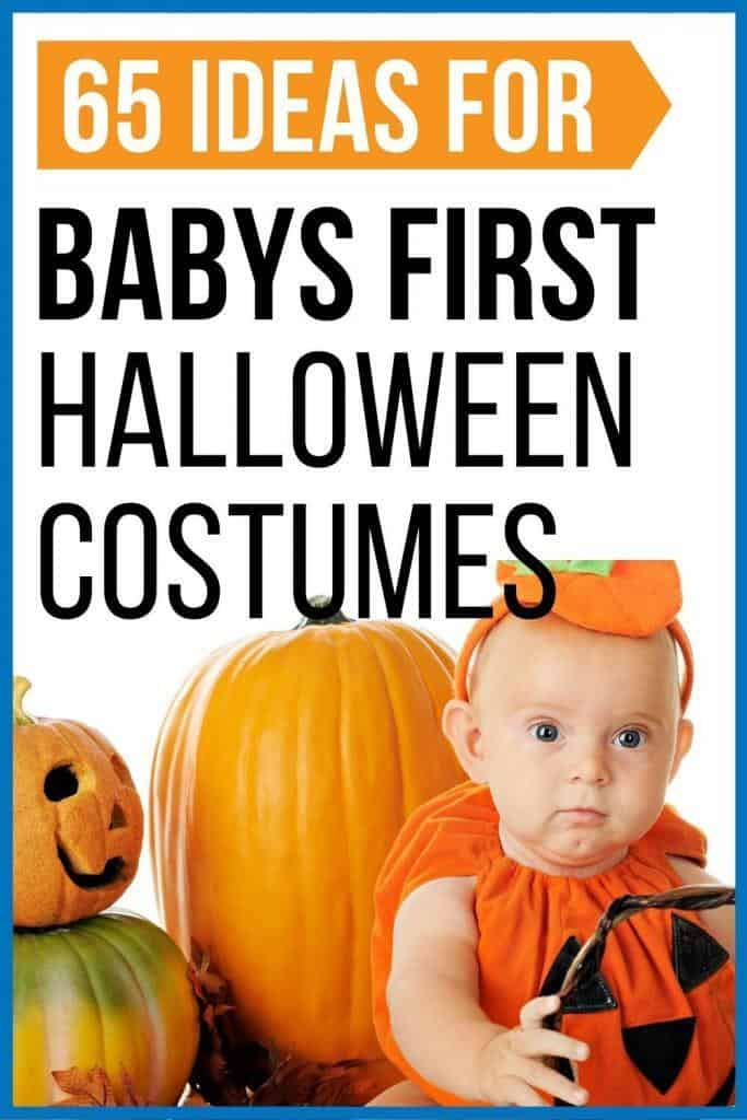65 ideas for babys first Halloween costumes