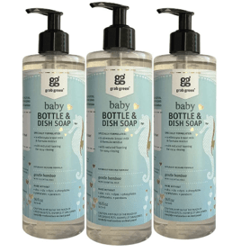 Grab Green Natural Baby Bottle _ Dish Soap