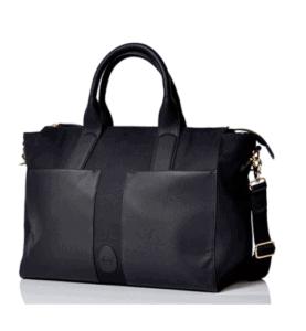 PacaPod Croyde Black Designer Baby Diaper Bag