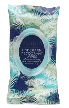 Pacifica Beauty Underarm Deodorant Wipes
