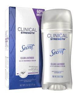 Secret Clinical Strength Deodorant
