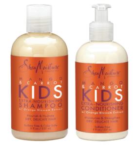 Shea Moisture Mango _ Carrot Kids Extra-Nourishing Shampoo